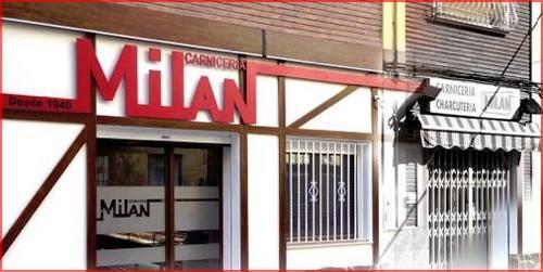 Fachada Carnicería Milan - Caudete